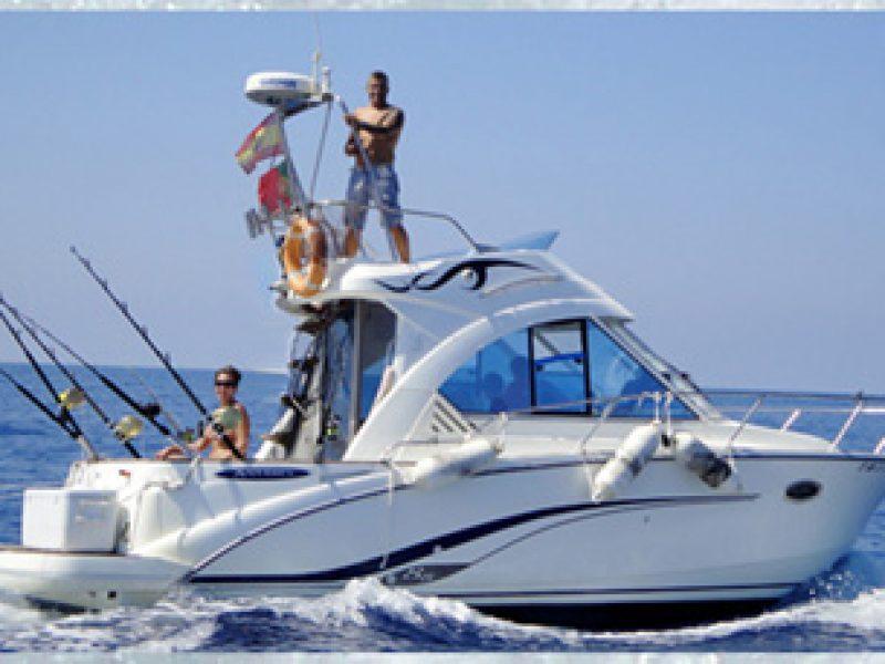 salidas de pesca en barco capitan charter